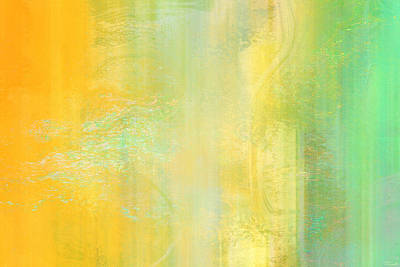 Day Bliss - Abstract Art Art Print