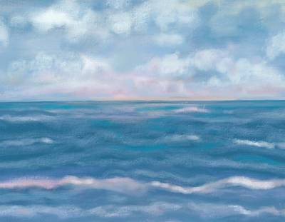 Painting - Day Break Sea by Christine Fournier
