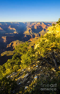 Photograph - Day Fades At The Grand Canyon by Deborah Smolinske
