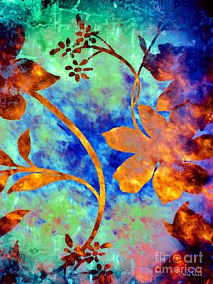 Darla Digital Art - Day Glow by Darla Wood