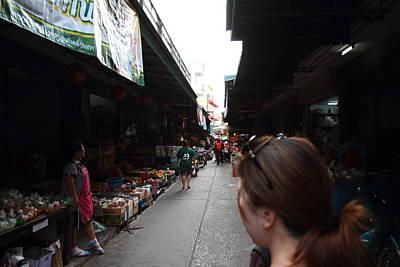 Vendor Photograph - Day Market - Pak Chong Thailand - 01139 by DC Photographer