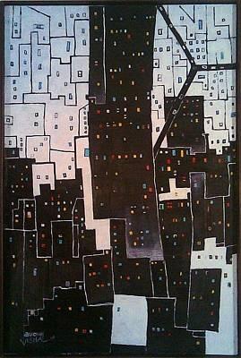 Painting - Day N Night by Auckel Vishal