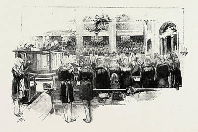 Atonement Drawing - Day Of Atonement, Concluding Service by Litz Collection