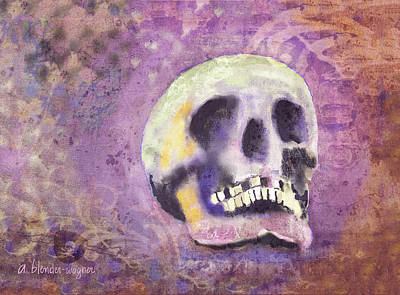 Digital Art - Day Of The Dead by Arline Wagner