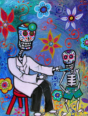 Painting - Day Of The Dead Doctor by Pristine Cartera Turkus