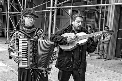 Musicians Royalty Free Images - Day of the Dead El Museo del Barrio NYC 2014 Musicians Royalty-Free Image by Robert Ullmann
