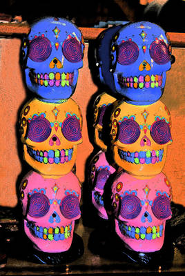 Day Of The Dead Ink Original by ARTography by Pamela Smale Williams