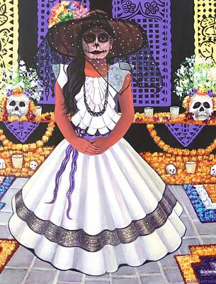 Painting - Day Of The Dead by Susan Santiago