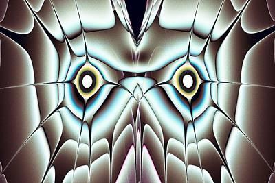 Day Owl Art Print by Anastasiya Malakhova