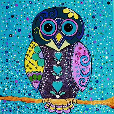 Painting - Day Owl by Melinda Etzold