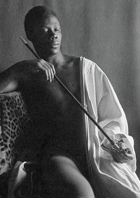 African American Nude Photograph - Day Smoker, 1897 by Granger