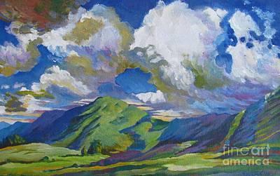 Bfa Painting - day by Vanessa Hadady BFA MA
