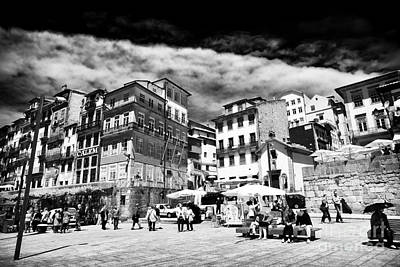 Photograph - Day Walkers In Porto by John Rizzuto