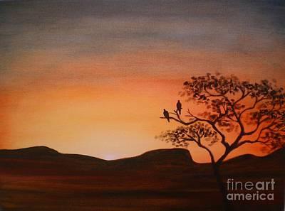 Painting - Daybreak by Annemeet Hasidi- van der Leij