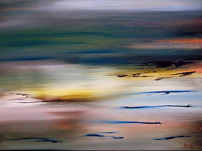 Painting - Daybreak by David Hatton