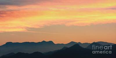 Photograph - Daybreak In Sierra Madre Mountains by Nicola Fiscarelli