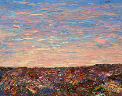 Colorful Sky Painting - Daybreak by James W Johnson