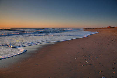 Daybreak On Hatteras Art Print by Steven Ainsworth