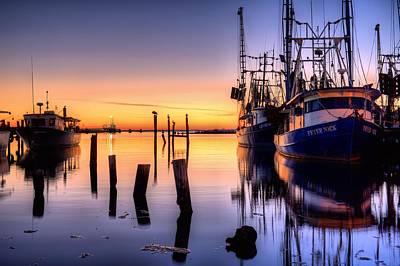 Daybreak On Pensacola Bay Art Print by JC Findley
