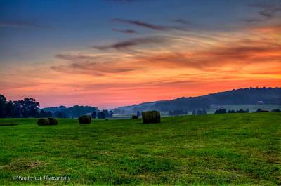 Photograph - Daybreak On The Farm by Paul Herrmann