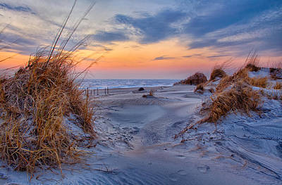 Daybreak On The Outer Banks 1 Print by Dan Carmichael