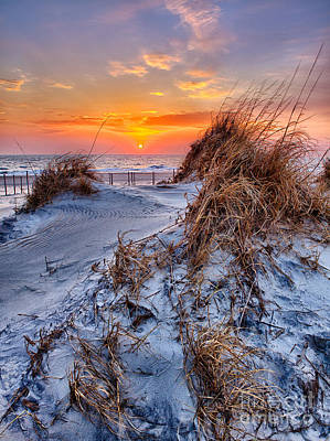 Daybreak On The Outer Banks 3 Print by Dan Carmichael