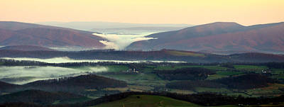 Photograph - Daybreak On The Valley Below by Cathy Shiflett