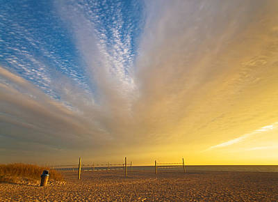 Photograph - Daybreak Over The Delray Nets by Lynn Bauer