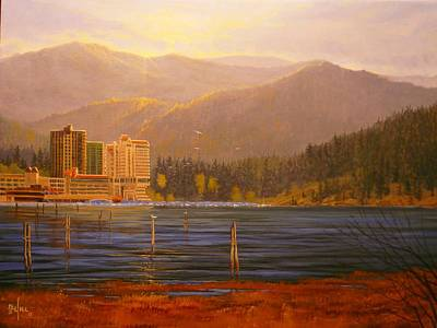 Painting - Daybreak by Paul K Hill