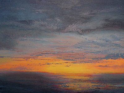 Painting - Daybreak Study I by Matt Swann