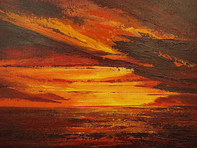 Painting - Daybreak Study II by Matt Swann