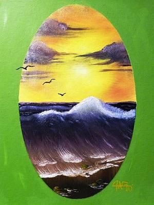 Daybreak Tide Art Print
