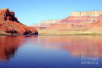 Daybreak - Vermillion Cliffs And Colorado River Art Print by Douglas Taylor