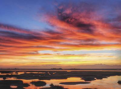 Photograph - Daydream Sunrise Sunset Image Art by Jo Ann Tomaselli
