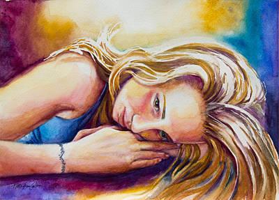 Daydreamer Original by Patricia Allingham Carlson
