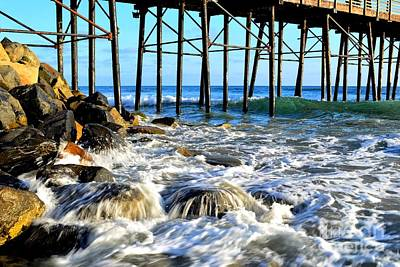 Photograph - Daydreaming At The Pier by Third Eye Perspectives Photographic Fine Art