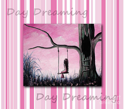 Daydreaming In Pink By Shawna Erback Art Print