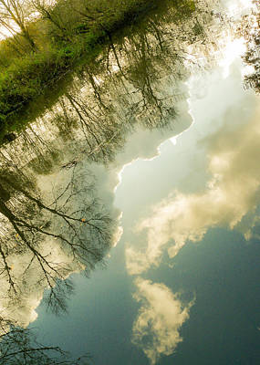 Photograph - Daydreaming On The Canal by Silken Photography