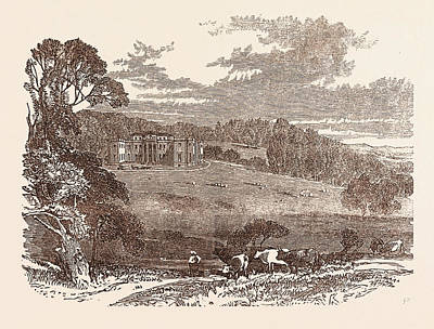 Daylesford House, Worcestershire, The Seat Of The Right Hon Art Print