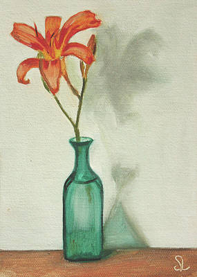 Daylily Art Print by Sarah Lynch