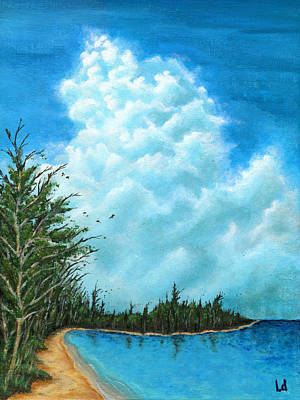 Shore Painting - Days Before You Came by Logan Hoyt Davis