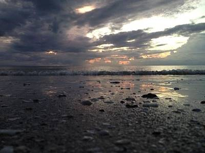Southwest Florida Sunset Photograph - Day's End 3 by K Simmons Luna