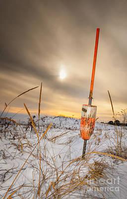 Lobstermen Photograph - Days End At Plum Island by Scott Thorp