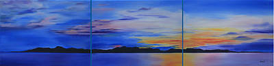 Painting - Days End by Nila Jane Autry