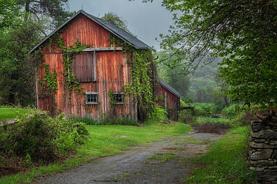 Vintage Barns Photograph - Days Gone By by Bill Wakeley