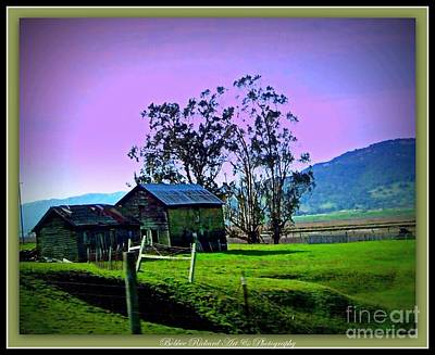Art Print featuring the photograph Days Gone By by Bobbee Rickard