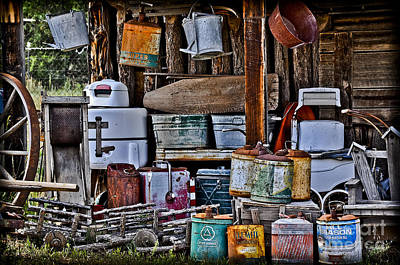 Photograph - Days Gone By by Gina Savage
