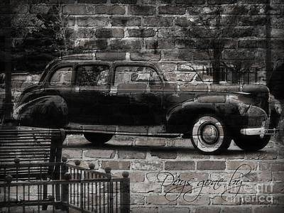 Photograph - Days Gone By Grafitti Series by Bobbee Rickard