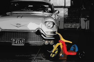 Toy Shop Photograph - Days Gone By by Kip Krause