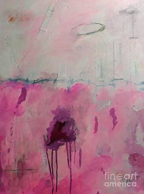 Paint Mixed Media - Days I Don't Remember Due To Grief And Anger by Shelli Finch